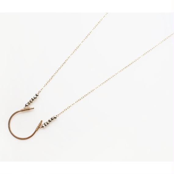 Horse shoe necklace