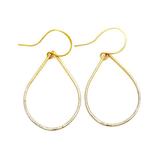 Drop gradation earring