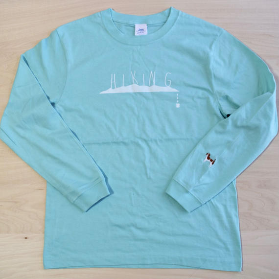 ''DANA SPORTS'' HIKING Long Sleeve TEE (MINT)