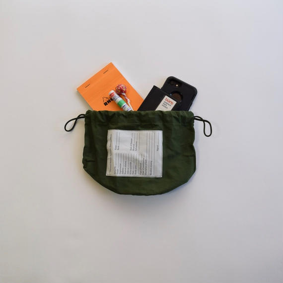 Dead Stock US ARMY Personal Effect bag
