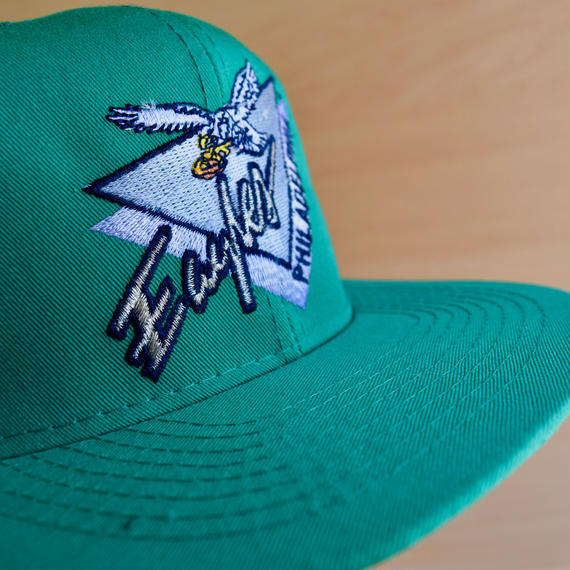 ''PHILADELPHIA Eagles'' DEAD STOCK 90s BBCAP