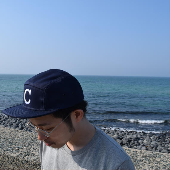 ''DANA SPORTS''    C   JOCKEY CAP      NAVY/BEIGE