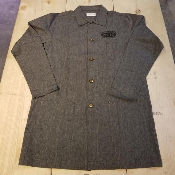 REW10   LIGHT COVERALL   COVERT CHAMBRAY