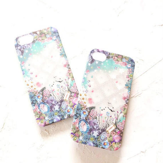 "Ricco.Co iPhone case ""Jewel Flower"""