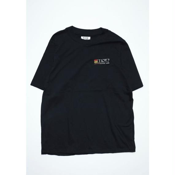 WORKER'S BIG TEE  (BLACK)
