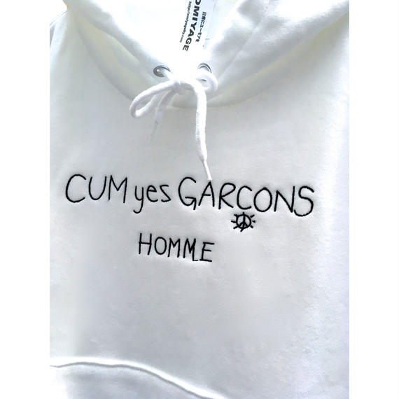 CUM YES GARCONS PARKA (WHITE)