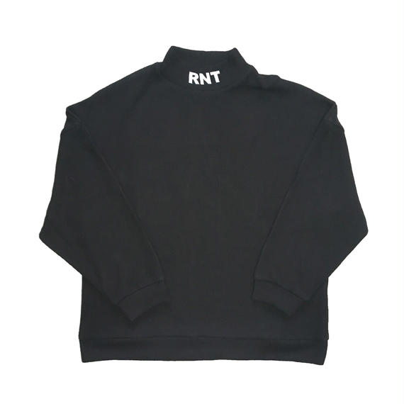 HIGH NECK RNT KNIT(BLACK)