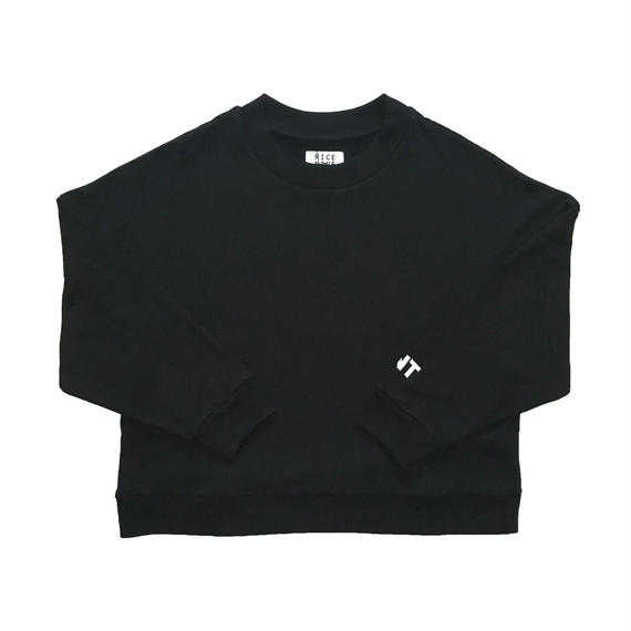SHOULDER DROP RNT SWEAT (BLACK)