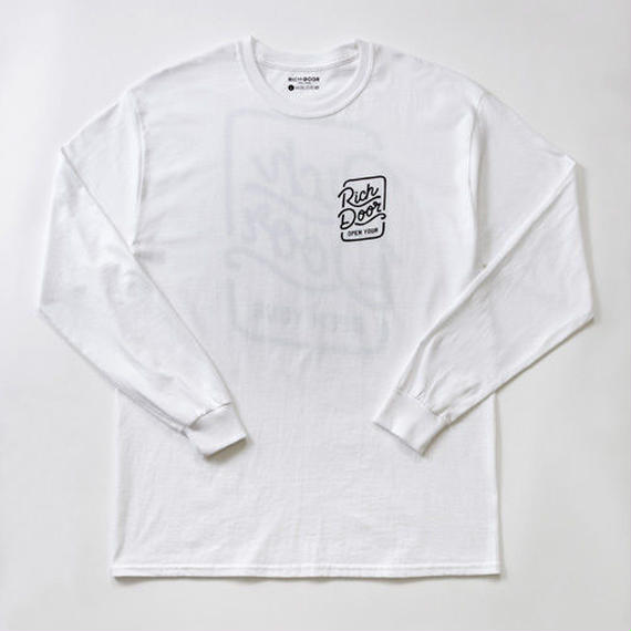 RICH DOOR L/S TEE「WHITE」