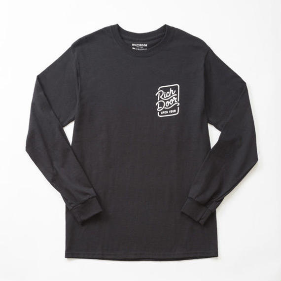 RICH DOOR L/S TEE「BLACK」