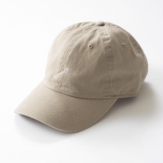 KEY POLO CAP 「BEIGE」