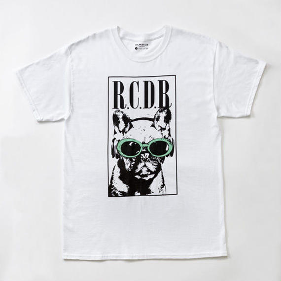 FRENCH BULL×KURT TEE「WHITE×GREEN」