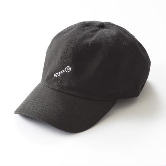 KEY POLO CAP 「BLACK」