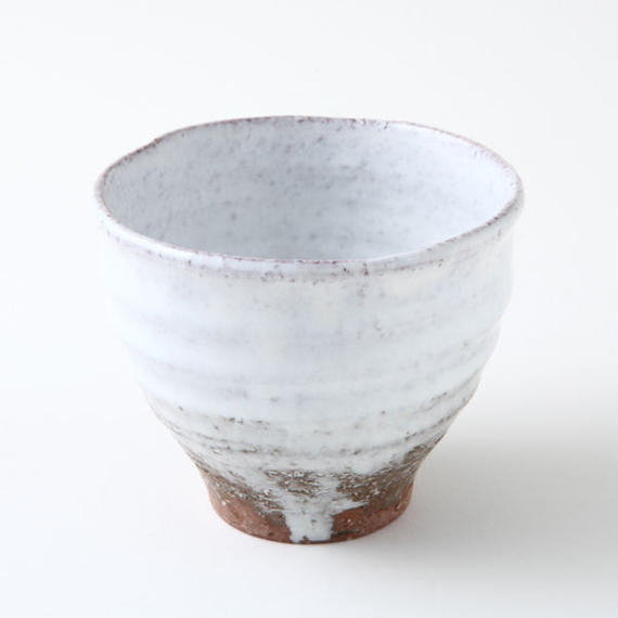 陶器 萩焼 和食器 作家 和モダン カフェ 小鉢 デザートカップ 白萩 フリーカップ 湯呑 白