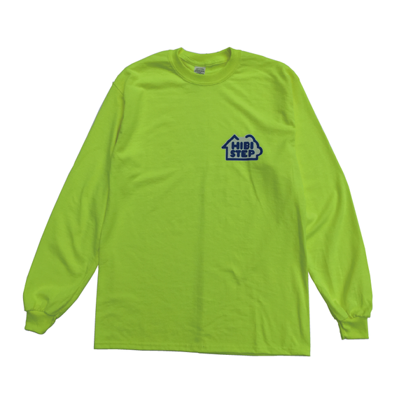 HIBI STEP Long Sleeve Tee [Safety Yellow]