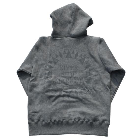 PORT Compass Hoodie (Heather Grey)