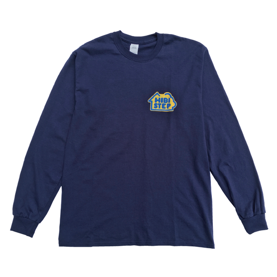 HIBI STEP Long Sleeve Tee [Navy]