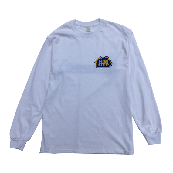 HIBI STEP Long Sleeve Tee [White]