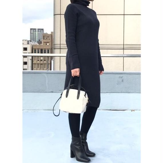 """#201🔻fofo  """"turtle neck one piece"""" タートルネックワンピース"""