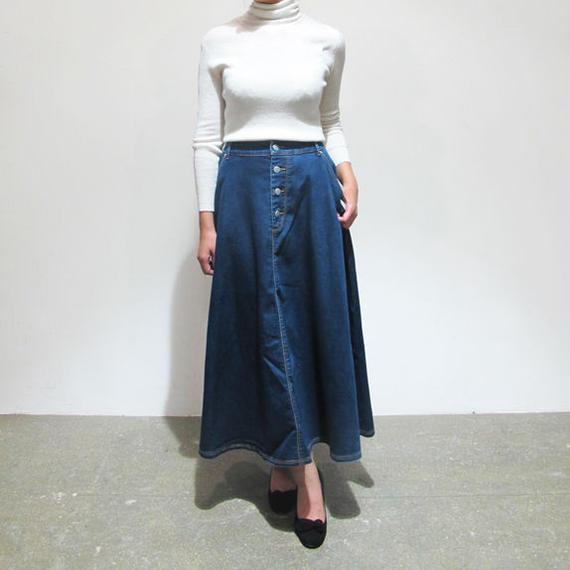 "#501🔻AOS ""Maxi flared skirt"""