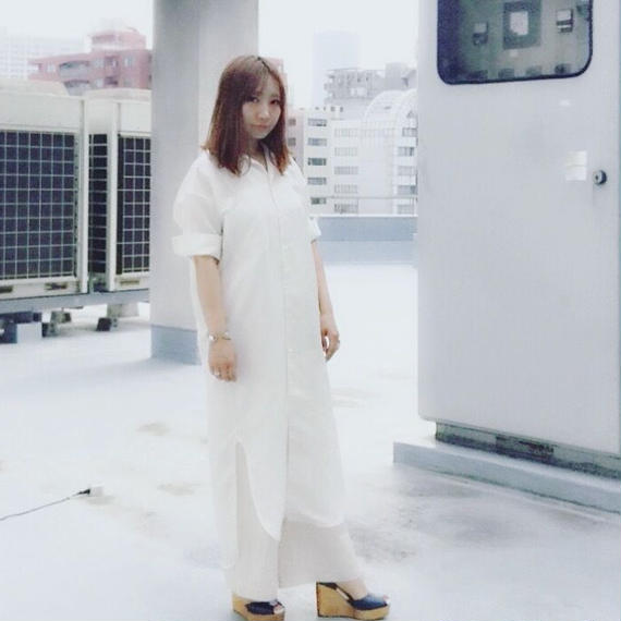 """#101🔻Luv our days  """"Open-necked collar dress"""""""