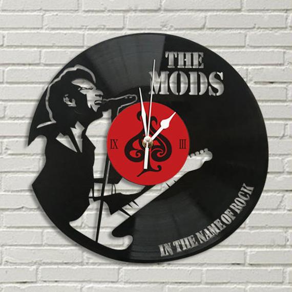 レコード盤 掛け時計