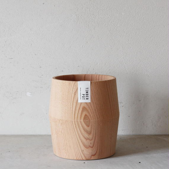 TIMBER POT TARU NO.4