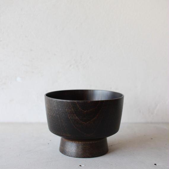 BASE 01 汁椀(黒漆拭き漆仕上げ)
