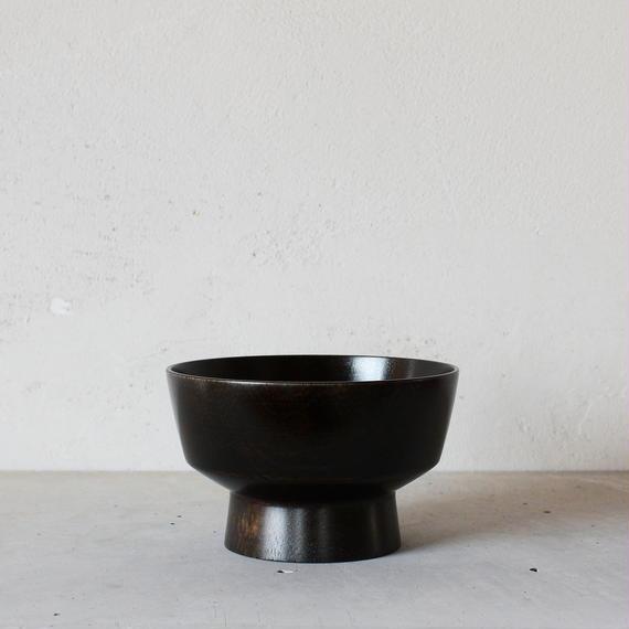 飯椀(黒漆拭き漆仕上げ)