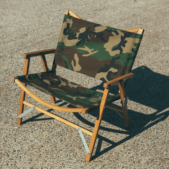 KERMIT WIDE CHAIR - Woodland Pattern -[Wide]