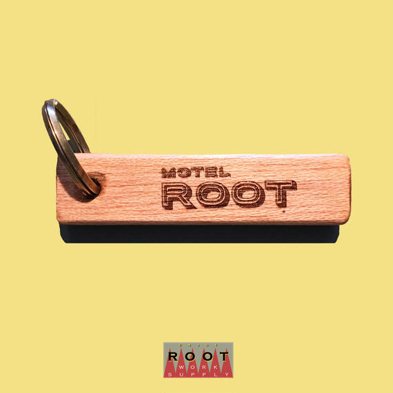 MOTEL ROOT KEY RING