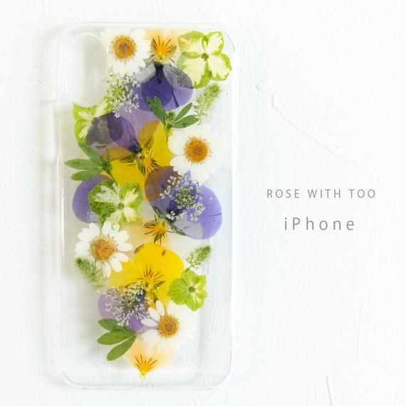 iPhone / 押し花ケース190220_3