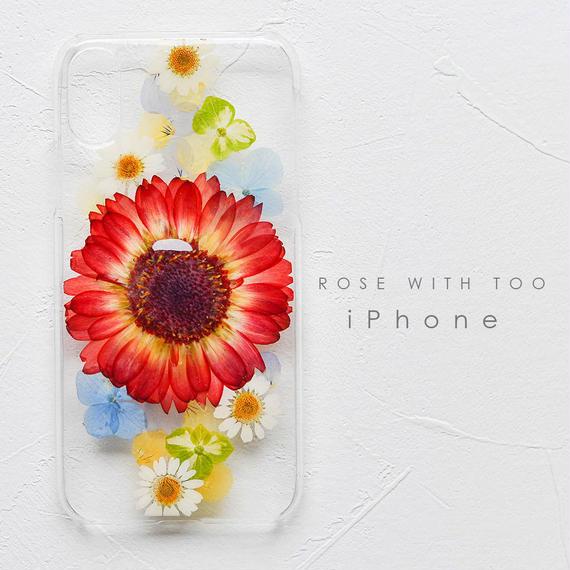 iPhone / 押し花ケース 190206_1