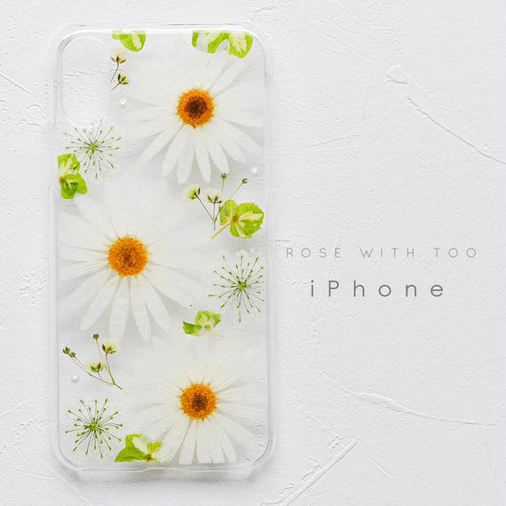 iPhone / 押し花ケース 190206_2