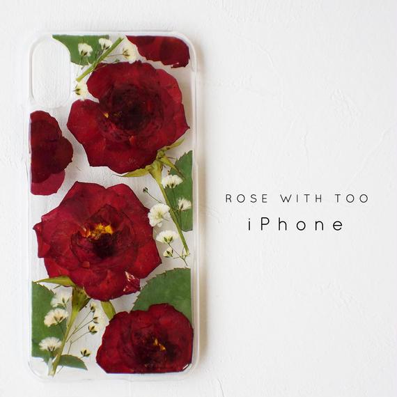 iPhone / 押し花ケース 190306_1