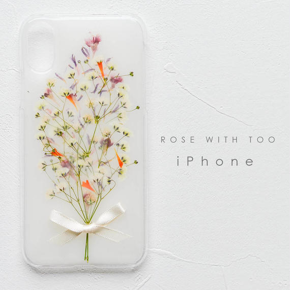iPhone / 押し花ケース 190206_3