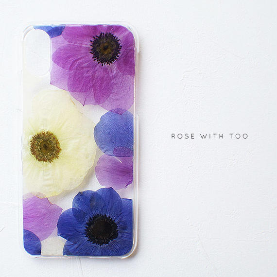 iPhone / 押し花ケース 190206【再販】