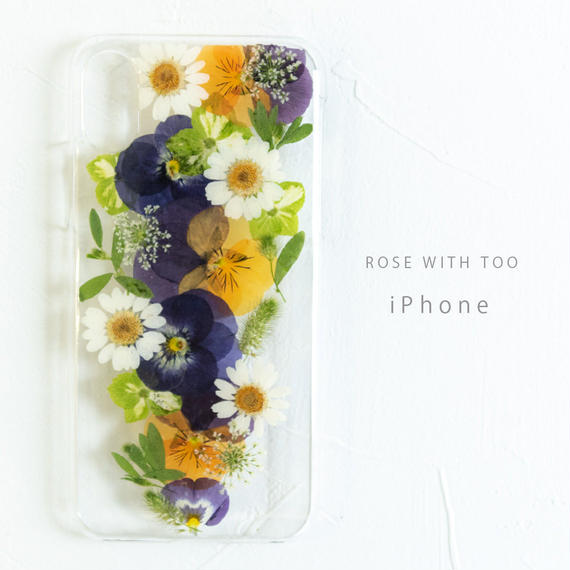 iPhone / 押し花ケース190220_2