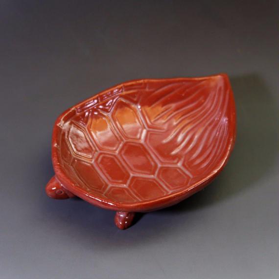 """""""Mukō-zuke"""" - Petite Plate Red"""