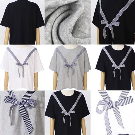 立体リボンTシャツ