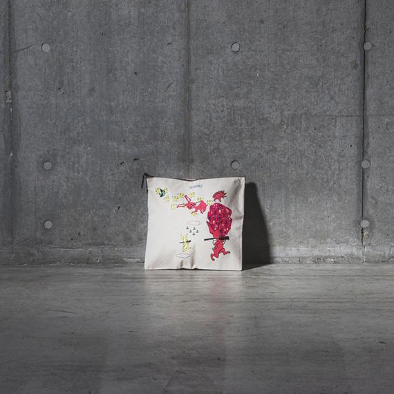 『全面うさぎ』クラッチバッグ ※予約商品