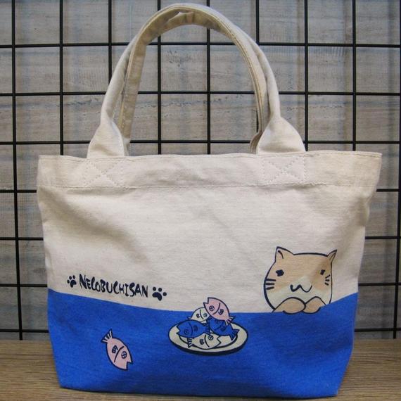 ねこぶちミニトート(猫渕)51855007