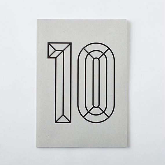 DAILY NOTE/MONOTONE 「10」