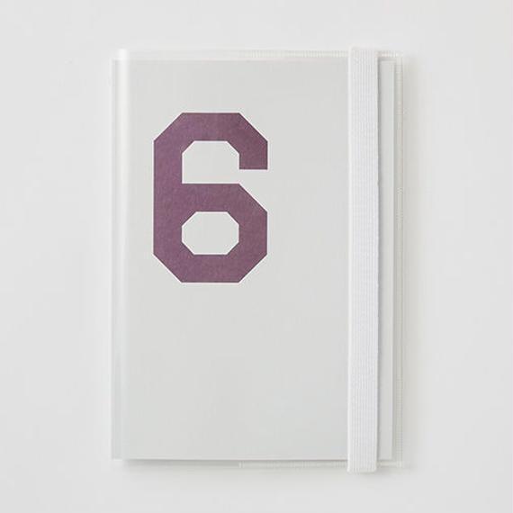 クリアーカバー付きDAILY NOTE 「6」