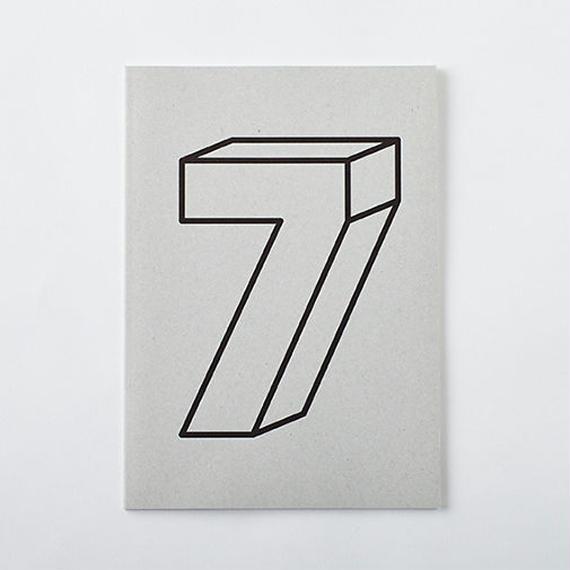 DAILY NOTE/MONOTONE 「7」