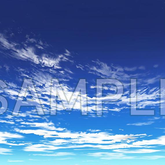 素材_薄雲背景02