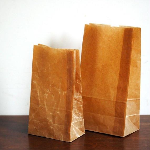 蝋引紙袋  角底 中
