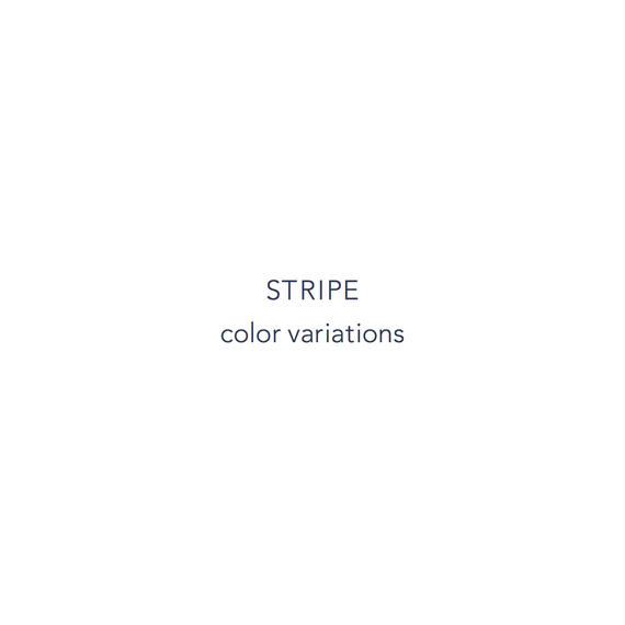 STRIPE color variations
