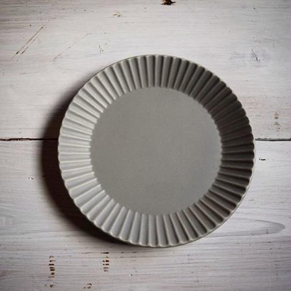 Sara Stripe Plate ( Gray )