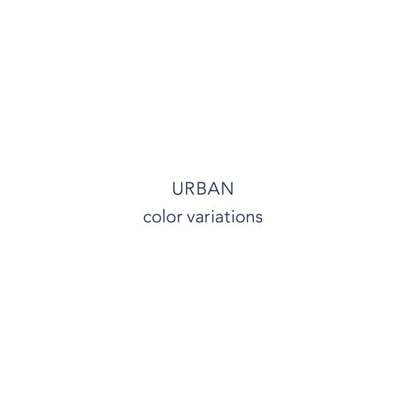 URBAN color variations